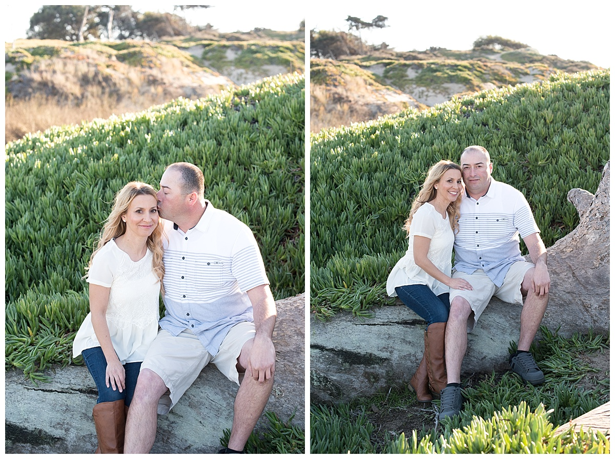 January and Jesse Engagement Shoot at Pismo Beach California Summer Wedding