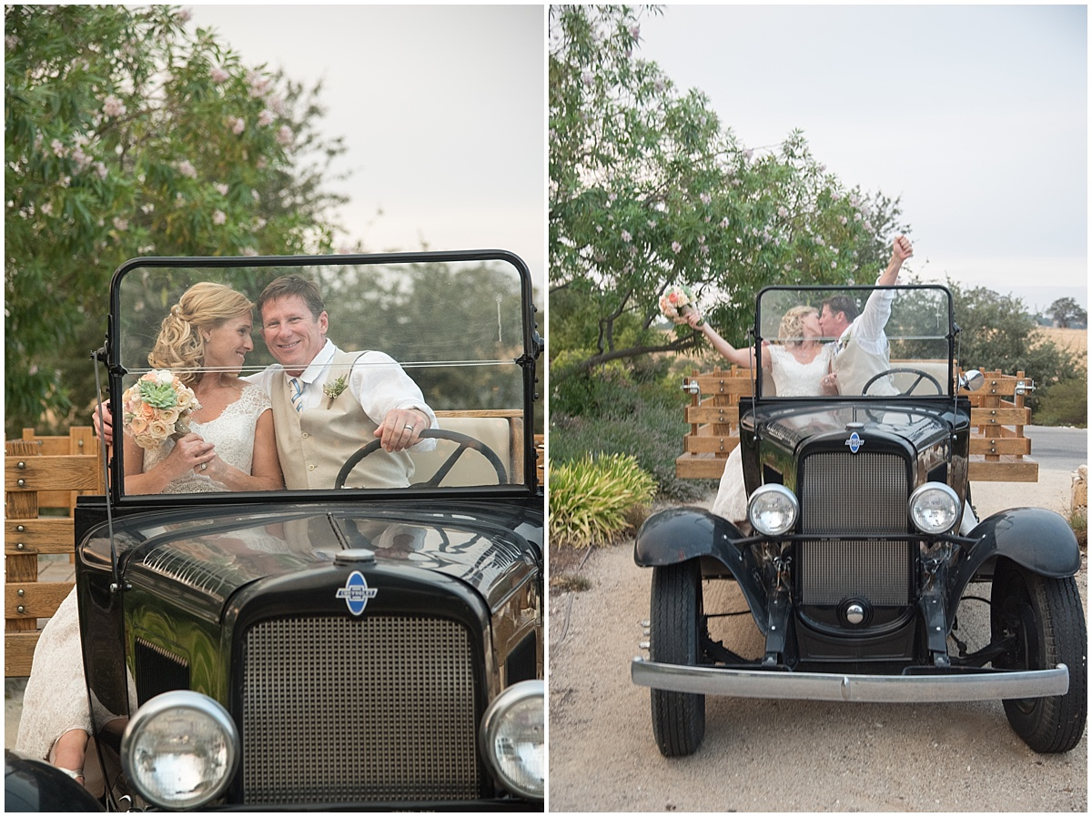Aly and Steve married at Calcareous Winery in Paso Robles Ca, Succulents, light colors, greenery, view