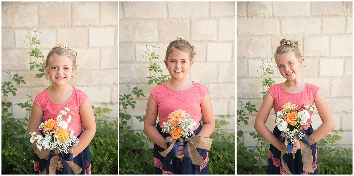Rio Seco Winery in Paso Robles California small wedding with navy and pinks