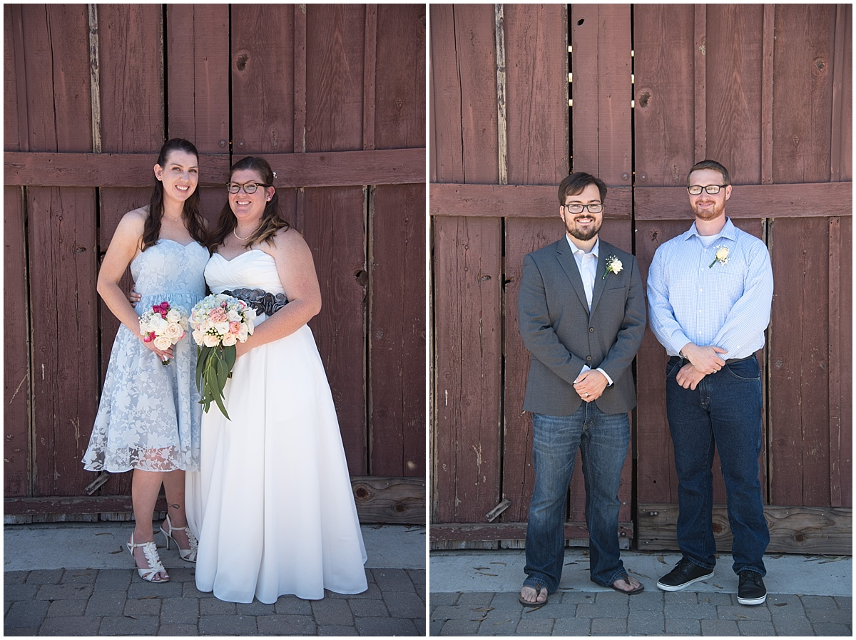 Los Osos Community Barn Wedding in San Luis Obispo, California