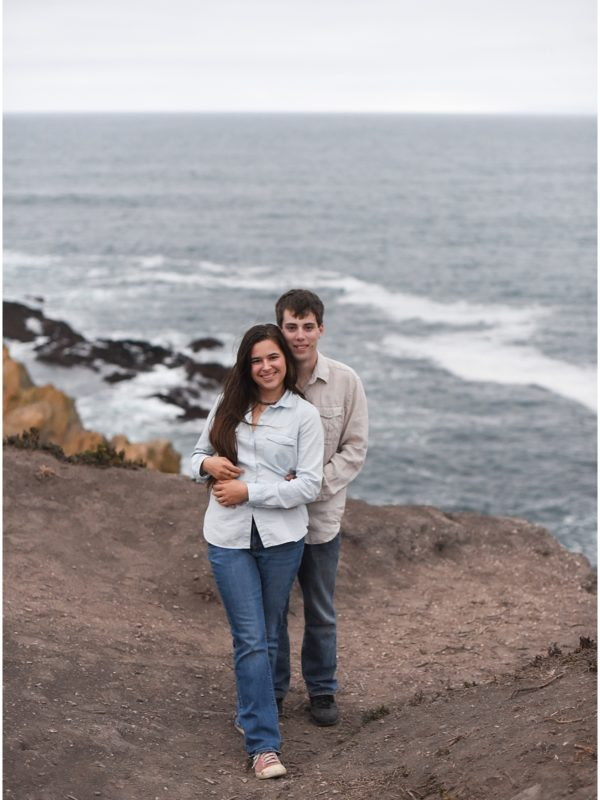 Brandon and Rachel | Engagement | Montana De Oro, CA