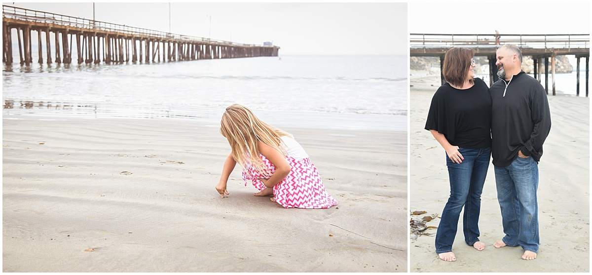 Family Beach Portrait Photography in Avila Beach, California
