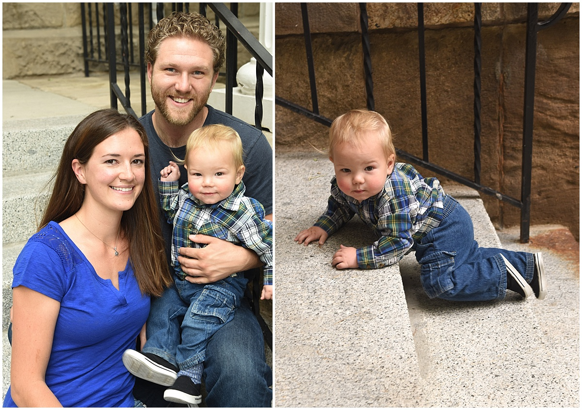 Gardnerville, Nevada Family Photographer at the capital, lifestyle session one year old boy