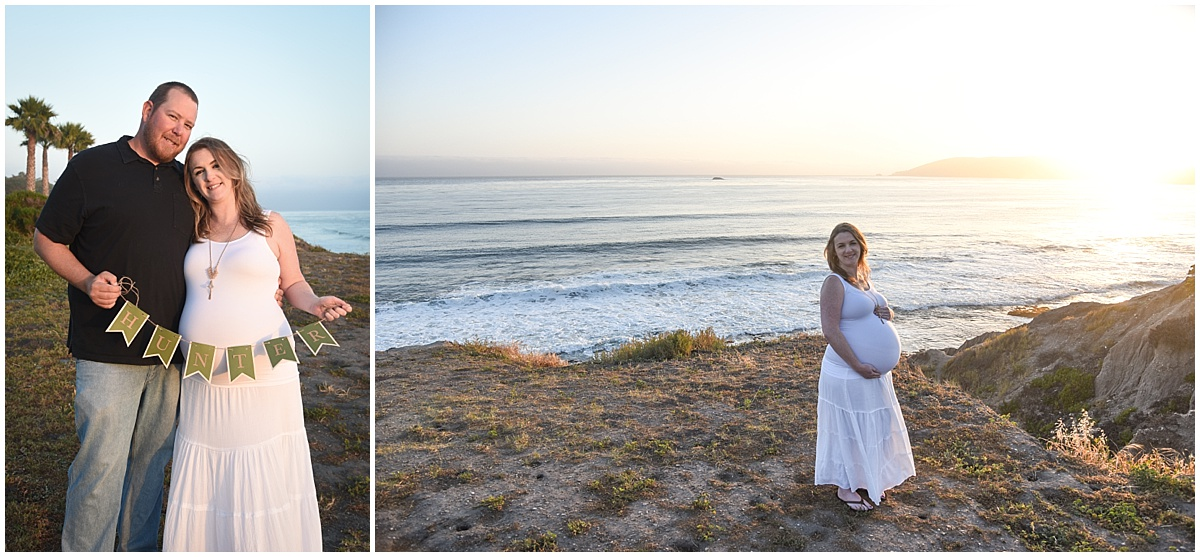 Maternity Photography in Shell Beach, California