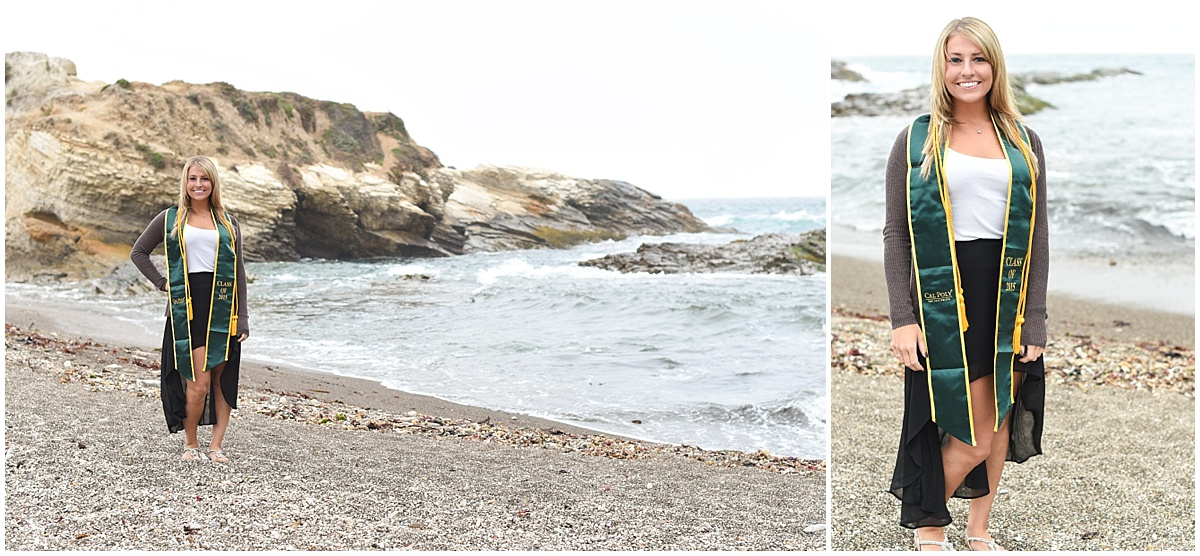 Cal Poly Senior Grad Session at Montana De Oro