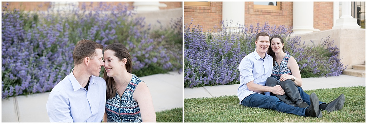 Engagement Session at the historic downtown Atascadero City Hall in California