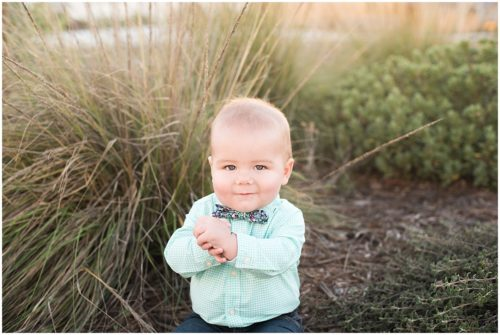 Oliver Baby Boy Six months old in San Luis Obispo, CA lifestyle session