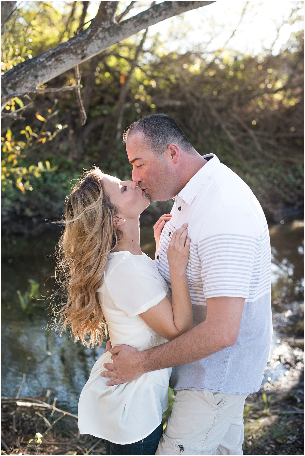 Engagement Shoot at Monarch Butterfly Grove in Pismo Beach, CA