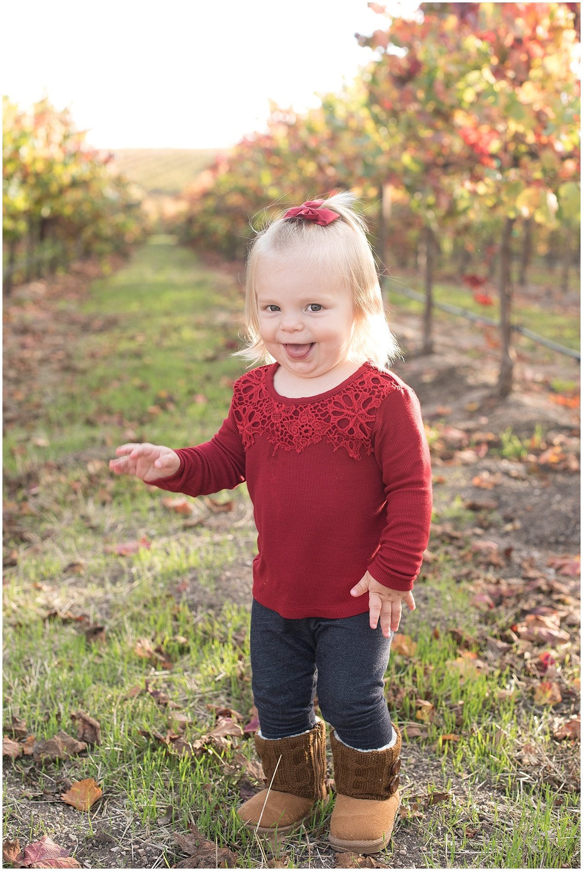 Ruby family photos at Pomar Junction in the fall at Paso Robles, CA