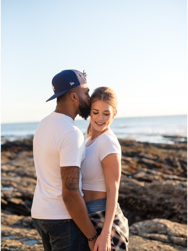Janai & Eddie | Honeymoon | Shell Beach, CA
