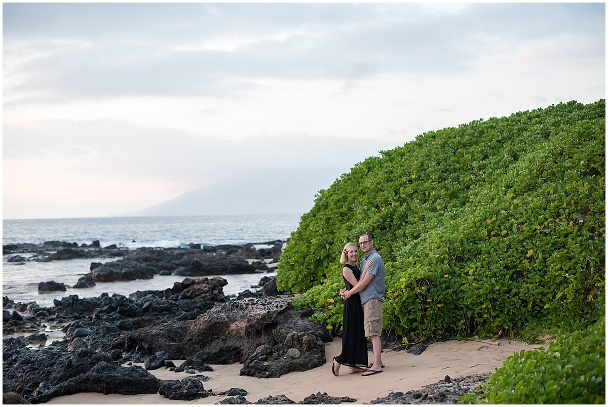 Destination Anniversary Photo Session in Maui, HI