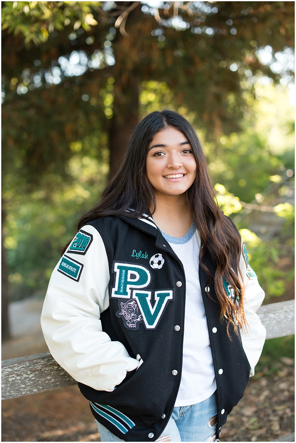 Pioneer Valley High School Senior Photo at the Village of Arroyo Grande