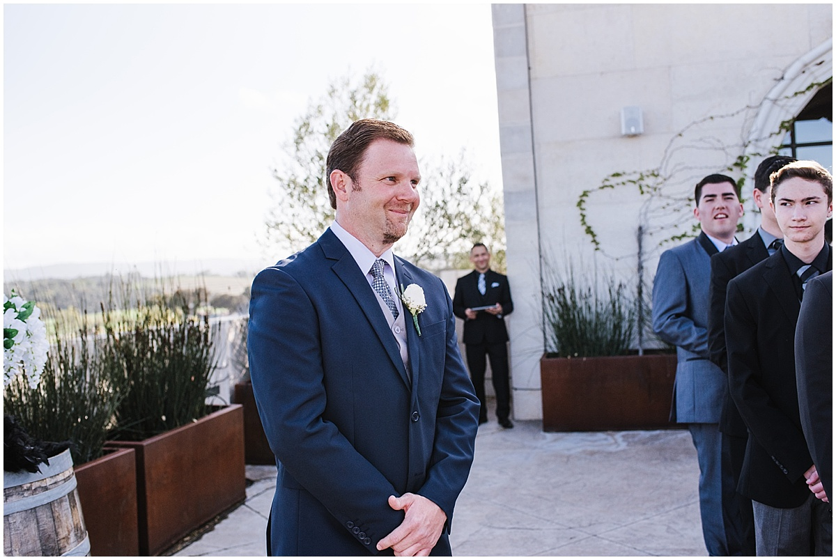 Tooth And Nail Spring Wedding in Paso Robles, California