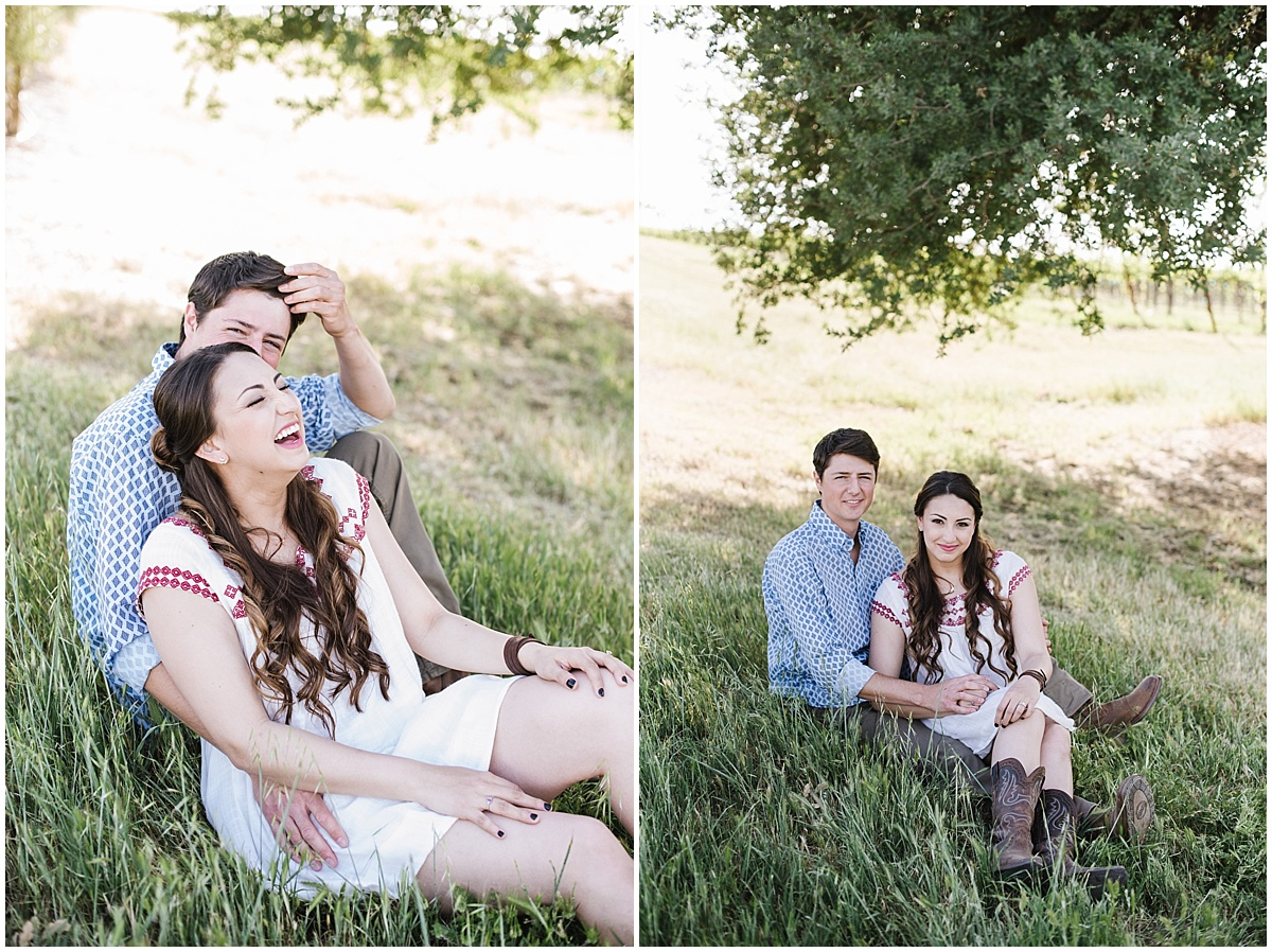 Pomar Junction, 1800 El Pomar country ranch engagement session in templeton california