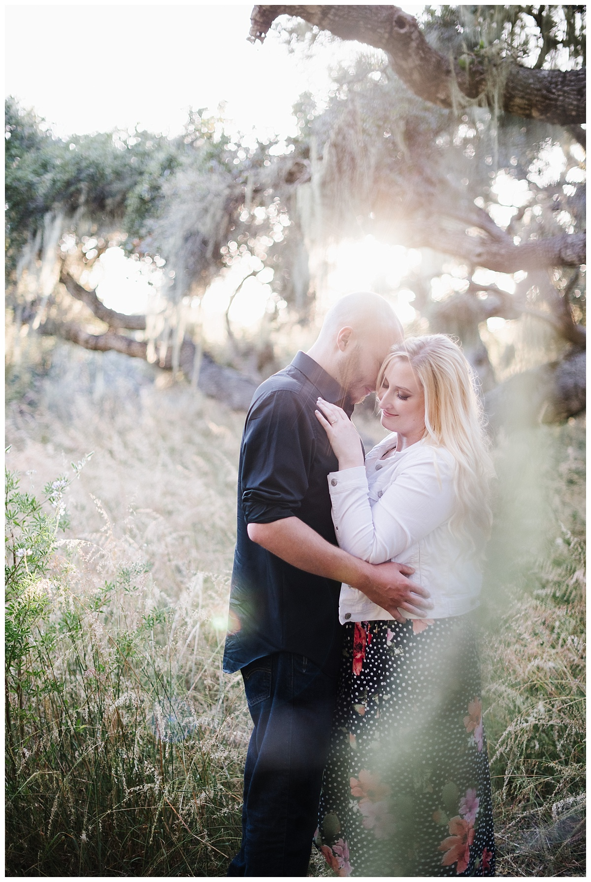 Los Osos Oaks Engagement Session in SLO County California