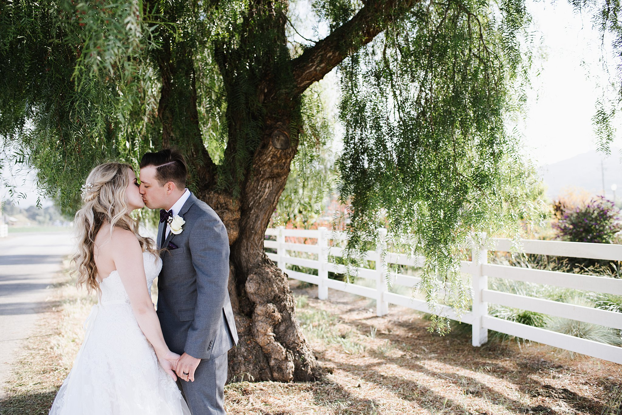 The White Barn Edna Valley in San Luis Obispo California Summer Wedding