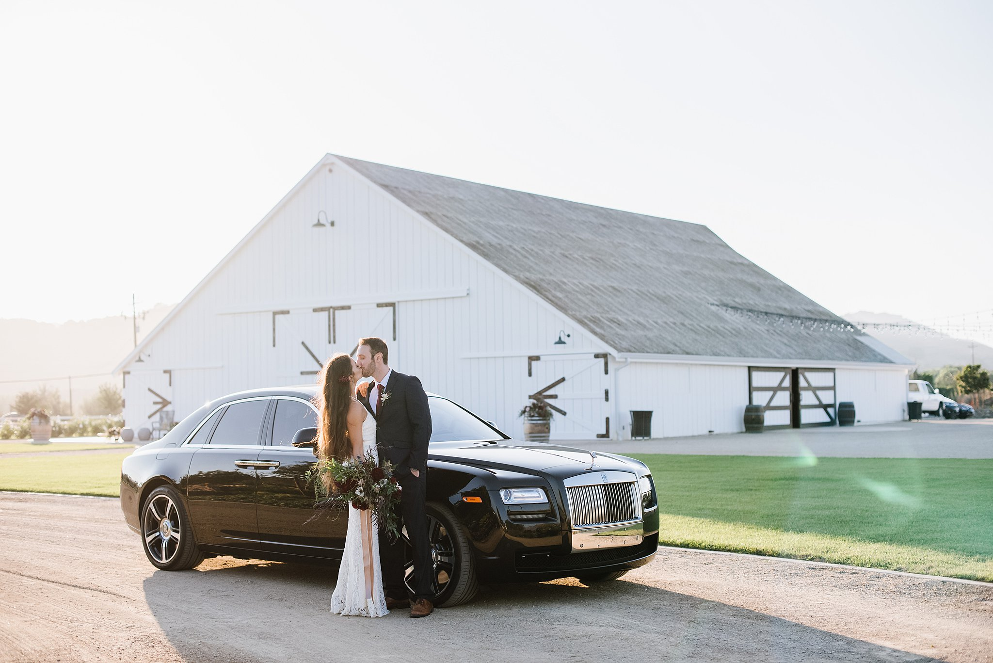The White Barn and Rolls-Royce