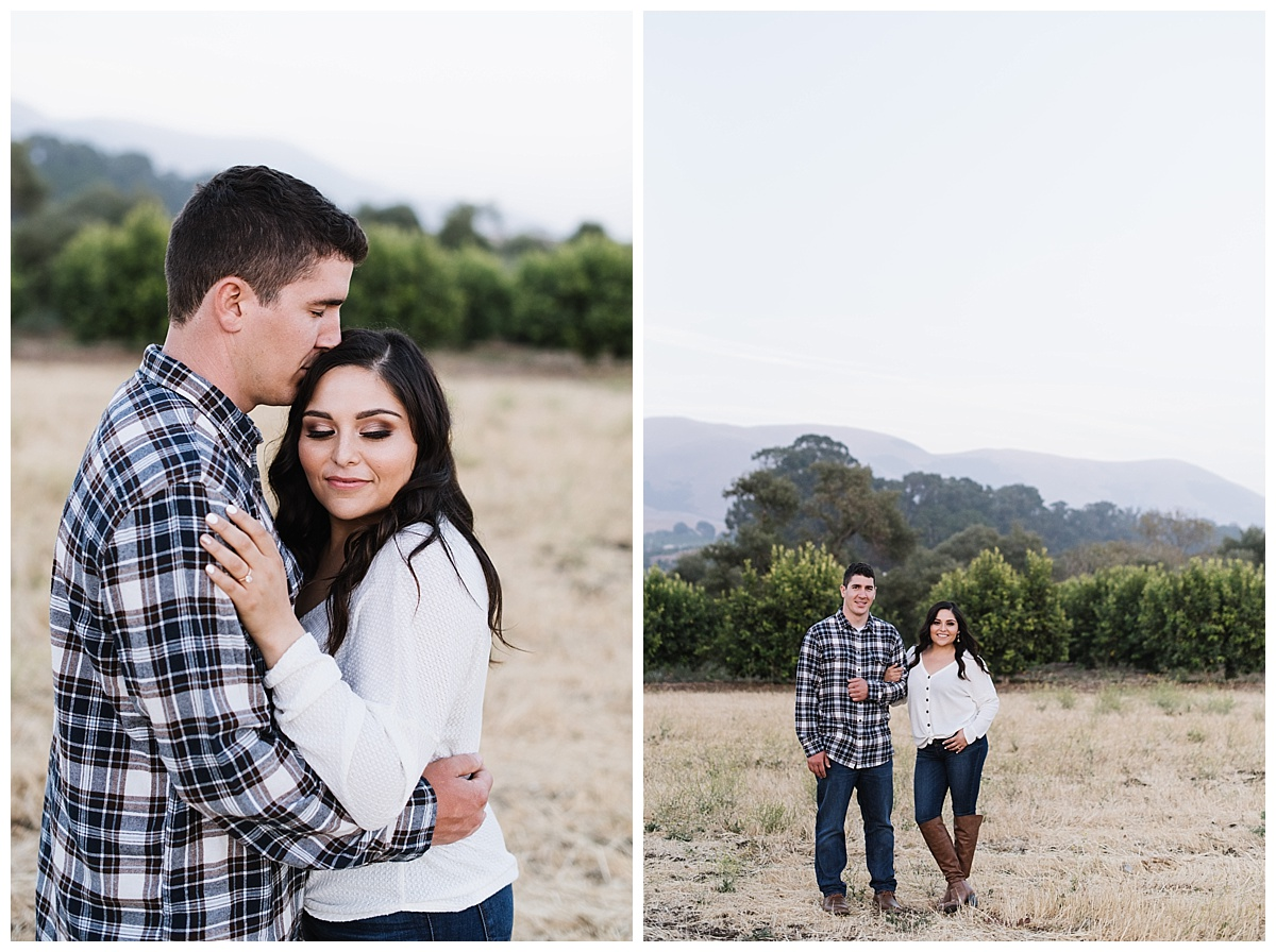 Dana Powers House Engagement Session in Nipomo California